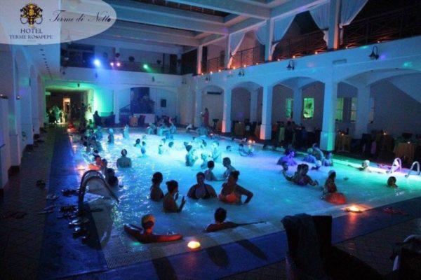 terme di notte terme rosapepe pool party